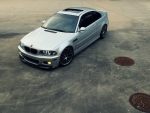 BMW E46 M3 Top Shot
