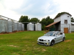 BMW E46 M3 lost in the country