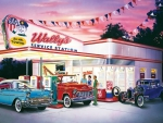 Wally's Service Station