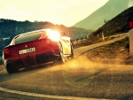 Ferrari F12 berlinetta and sunshine