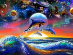 ★Dolphins in Sea Universe★