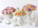 flowers for tea party