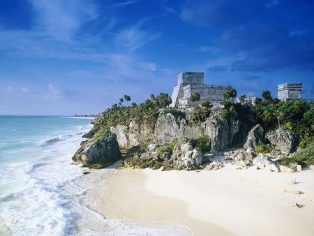 Mayan Civilization - civilization, coast, beaches, nature, mayan