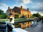 Shardlow Lock, England