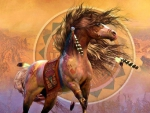 Native War Horse