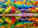 Beautiful autumn scenery