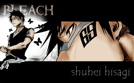 hisagi - bleach, anime