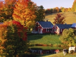 Autumn on Vermont Farm