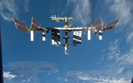 International Space Station - Station, International, Space, Earth