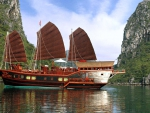 Red Dragon Cruise in Ha Long Bay, Vietnam