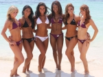 Baltimore Ravens Cheeleaders in Cancun