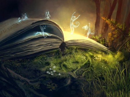 The Book of Nature - Fantasy & Abstract Background Wallpapers on ...
