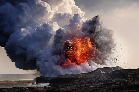 Kilauea Volcano, Hawaii Islands  Forces of Nature \u0026 Nature Background Wallpapers on Desktop