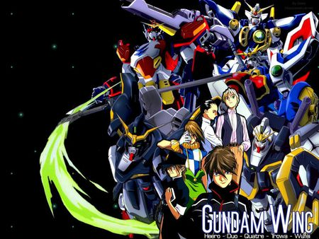 Gundam Wings - manga, gundam wings, anime