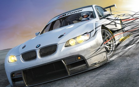 Need for speed Shift - need for speed shift, bmw, racing game, game, ps3, x-box