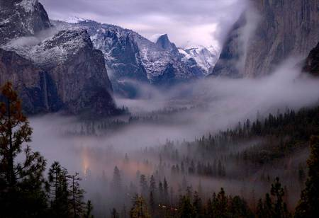 Misty Mountains Mountains Amp Nature Background Wallpapers