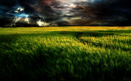 Dark and cloudy sky over field hdr sky nature background dark and cloudy sky over field hdr thecheapjerseys Image collections