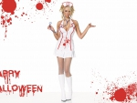 Halloween Nurse girl