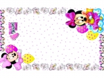 Baby shower minnie mouse theme