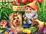 Yorkshire Terrier and Gnome F1