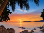Sunset Over Patong Beach, Phuket