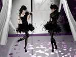 The Black Swan twins