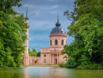 Schwetzingen Mosque in Germany - hdr