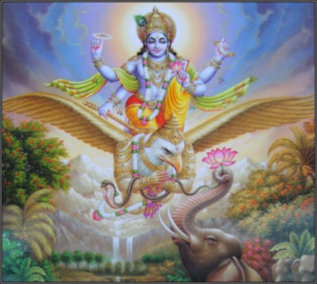 Vishnu - guarada, vishnu, india, god, hindu, supreme, lord, hinduism