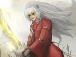 Inuyasha and Tessaiga