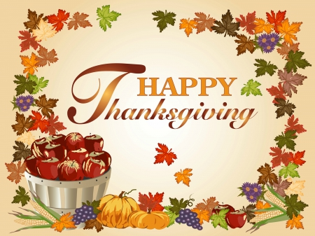 Thanksgiving 3d and cg abstract background wallpapers - Thanksgiving day wallpaper 3d ...
