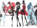 Tim Burton Fashion Collection