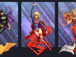 Batgirl, Supergirl & Wonder Girl