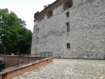 Ancient castle in Krakow