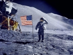 Apollo 15 David Scott surface of the moon