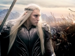 lee pace as tranduil in hobbit 3