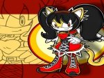 Honey the Cat from Sonic the Fighters