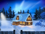 ~*~ Winter Night Landscape ~*~