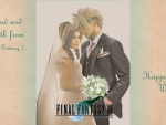 Cloud and Aerith -Wedding-