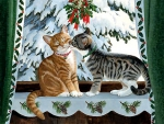Holiday Traditions - Cats F2