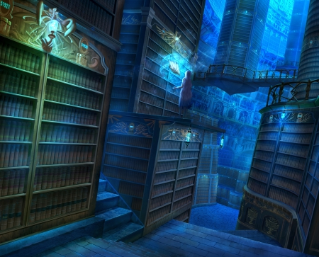my magic library by - photo #28