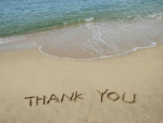 thank you from ocean