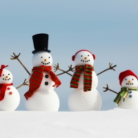 snowman family wallpaper - photo #22