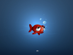 Sad Animated Fish