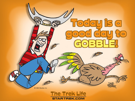 A Good Day to Gobble - thanksgiving, turky, dinner