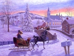 Romantic winterday