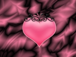 Pink Heart with Crown