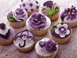 Purple Capcakes