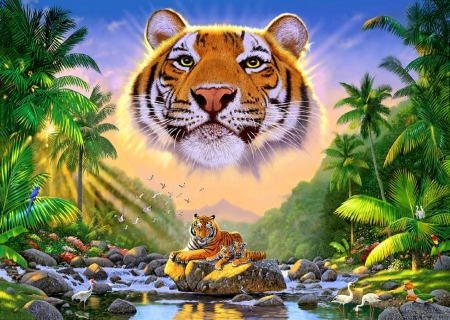 ★Majestic Tiger★ - Cats & Animals Background Wallpapers on ...