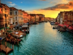 Venice Grand Canal at Dusk