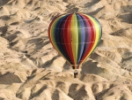 Hot Air Balloon over Tunisia